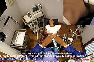 Naive Latina Melany Lopez Spread Eagle For Gyno Exam Hard by Doctor Tampa! Caught on Suffocating Cameras only @ GirlsGoneGynoCom