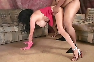 Mom'_s Pantyhosed Lapdance Audition