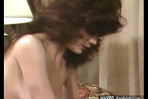 Drenched hairy pussy nailed by strong cock