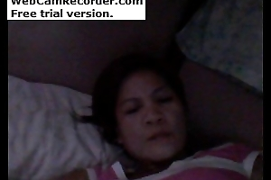 Diane Cordero. She is filipino woman. masturbating on webcam