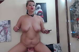 Cruel games on touching rub-down the pussy for a grown-up submissive slut! Very hard fisting, cunt is about to crack at rub-down the seams!
