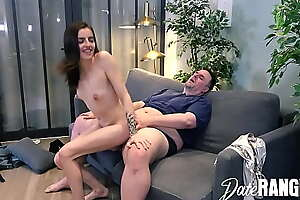 Analized: FRENCH Teeny BISCUIT gets TENNIS RACKET plus DICK in HER Arse - DATERANGER.com