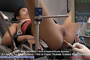 Miss Mars Becomes Terrene Guinea Drink in for Doctor Tampa's and Nurse Kristen Martinez's Electrical E-Stim Experiments EXCLUSIVELY on GirlsGoneGynoCom