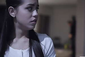 Perv person impregnates poor babysitter - Dick Chibbles added to Alina Lopez