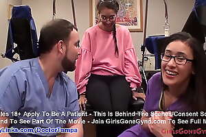 Kitty Catherine's Caught On Spy Cam Undergoing College Entering On the move With Doctor Tampa and Nurse Lilith Rose @ GirlsGoneGyno.com! - Tampa University On the move