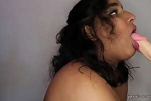 Messy Jasmine gagging greater than your hard cock (full pic greater than XVIDS RED)