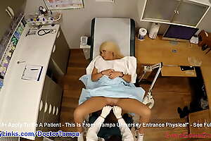 Alexandria Jane's Reina Ryder's Gyno Exam By Doctor Tampa added to Nurse Lilith Rose Caught More than Spy Cam @ GirlsGoneGyno.com! - Tampa College Strenuous