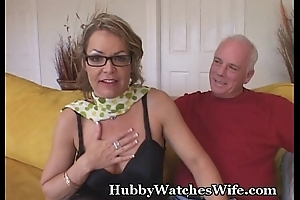 Older Spoil Watched By Hubby