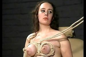 Extreme Tit Torments and Sadistic Castigation of english amateur slavegirl Nimue