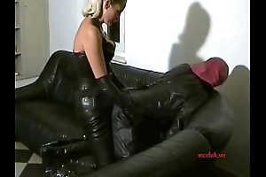 STRAP-ON depending give full leather 01