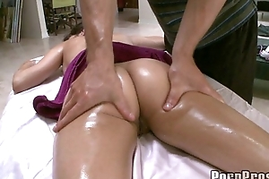 Hot Big Tit April Gets Wet Lusty Massage 1