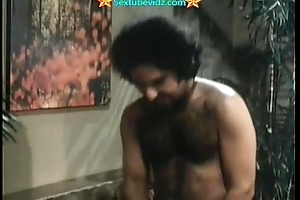 Ron Jeremy Plowing Three Hairy Pussies