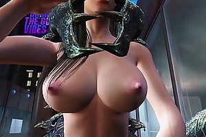 Tifa ambushed by alien creature