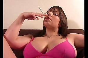Nikki Smoking