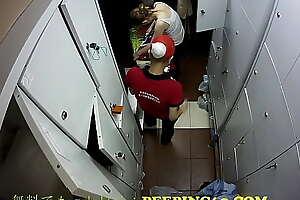アメリカKFC    アメリカのファーストフード店の防犯カメラ