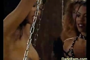 Schoolgirl getting her nipples sucked giving blowjob