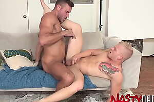 NASTYDADDY Blond Bottom Leo Luckett Overdue Bred Off out of one's mind Manuel Skye