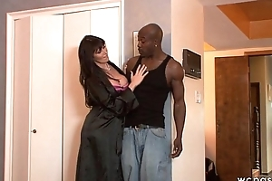Horny MILF Anal Interracial