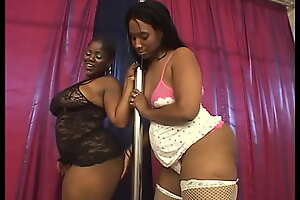 Lesbian Budonkadunk #2 - It's hard to imagine anything more unquestionable than black BBW lesbians