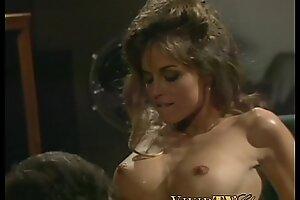 Busty retro pornstar fucked powerfully on assignation table
