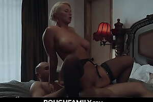 Mommy Cheating with Her Husband's Laddie - RoughFamily.com