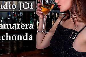 Audio JOI con camarera española muy cachonda