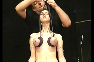 Throat Needle torments Coupled with Extreme Mamma Punishments To Tears Be advisable for Pierced Emily