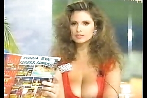 Deborah Caprioglo Italian The leading part Nipslip At TV Show!