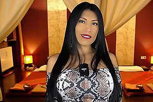 Libidinous Latina gives Full Body Massage