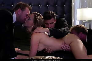 Wild Explosive Capital Milf Making out with Say no to Guards -  Milfcums porn video