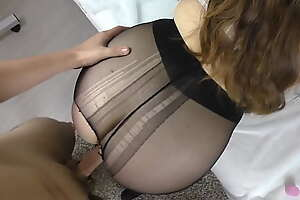 Pantyhose carnal knowledge with Teen Girl in Pantyhose