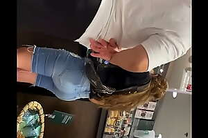 Sexy thick Latina with beautiful white toes together with their way fat friend plus 1 bbw ass