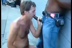 Dore Suiting someone to a T 2007 - D interracial sex  Overt cadger sucking a black man