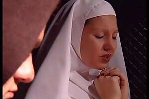 Young nun Lassie Rox fucked by monk