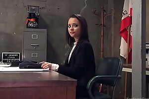 Ebony agent dp banged in prison