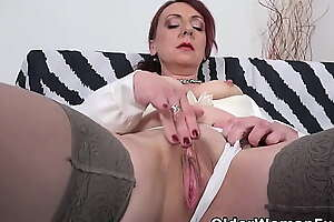 Order about mature milf Coco fucks herself with a dildo