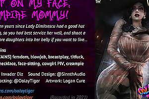 Lady Dimitrescu - Sit on my face, Cacodemon Mommy! (18 EroAudio)