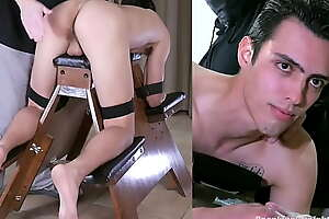 Straight Boy with Anger Management Issues is Spanked by a Man