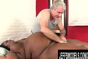Jeffs Models - Horny Plumper and a Perverted Old Masseur Compilation