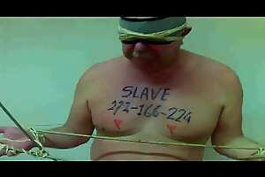 slave 272 bamboo bondage whipping