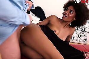 VIP SEX Define - (Luna Corazon coupled with David Perry) Brazilian Ebony Teen Gives Her Best On First Euro Excruciating