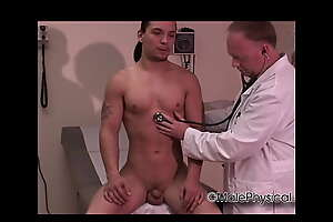 Latino Out in the open Doctor Brisk Exam