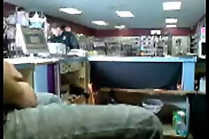 Exhib cashier caught in adult store