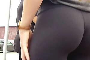 Candid Teen Tight Ass Lululemon