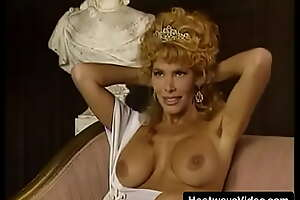 MILF with beamy tits gets fucked around a campy