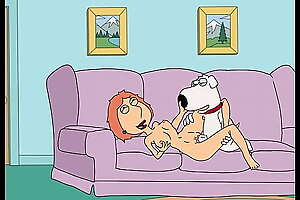 Lois and Brian hide the bone while Peters at Work (Family Guy)