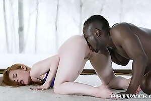 Ella Hughes Prefers Interracial Feign To...