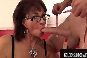 Golden Slut - Cock Hungry Older Tastes Man Meat Compilation