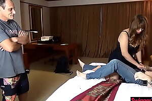 Big White Chief Asian MILF amateur could war cry acquire up to snuff foreign cocks in her life