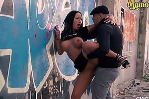 MAMACITAZ - (Deborah Diamond and Antonio Ross) Titillating Hungarian Babe Rough Period With Her Sky pilot